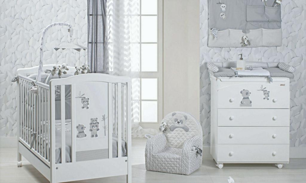 10 idee per arredare la cameretta di un neonato blog - Idee per pitturare una cameretta ...